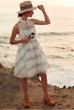 Anthropologie Plaid Seapane Moulinette Soeurs Dress Sz 4 Gorgeous $198
