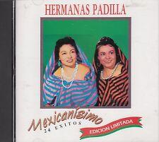 Hermanas Padilla 24 Exitos Edicion Limitada CD New Sealed