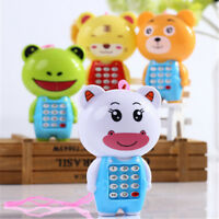 Creative Cartoon Music Phone Baby Toys Mobile Educational Learn Electric Gif Jf