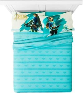 The Legend of Zelda Breath of the Wild FULL SIZE SHEET SET NEW