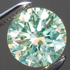 Round Loose Moissanite Diamond 4 Ring 3.77 ct Vvs1/10.30mm White Sky Blue Color