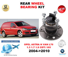 FOR OPEL ASTRA H VAN 2004-2010 NEW  1 X REAR WHEEL BEARING HUN KIT + SENSOR