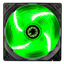 Game Max Sirocco 4 x Green LED 120mm Fan PC 12cm Case Fan High Performance