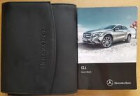 GENUINE MERCEDES GLA X156 OWNERS MANUAL HANDBOOK 2013-2017 WALLET # C-134