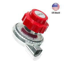 Adjustable 20psi Propane Regulator LP Gas Heater Stove Cylinder Valve Part US