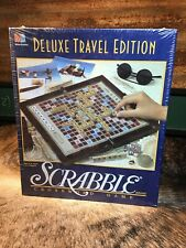 SCRABBLE DELUXE TRAVEL EDITION 1990 NOS 4121 Milton Bradley BRAND NEW SEALED