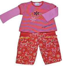 Trousers Top Baby Girl Funky Red Outfit Set 0-3 Months