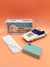 VINTAGE VERY RARE SOVIET USSR RALLY SPORT CAR REMOTE CONTROL TOY+ Box