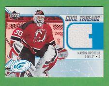 2005-06 Upper Deck Ice Cool Threads #CTMB Martin Brodeur