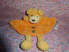 ♥ Schmusetuch Hund orange the Toy Company   ❤️