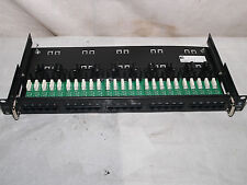 Adc Krone 7022 4 001-25 25 Port 1Ru Slide Out Black Voice Grade Patch Panel -New