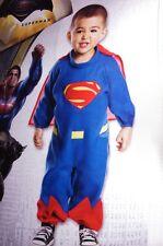 Baby Boys Toddler Batman v SUPERMAN Super Man Halloween Purim Costume 2 4 NEW