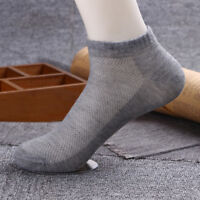 20 Pairs Men Women Ankle Socks Low Cut Summer Casual Sport Cotton Solid Breath