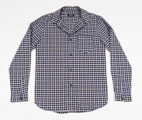 APC Men's Blue checked long sleeved Casual Shirt Size Small