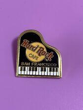 Hard Rock Cafe SAN FRANCISCO 1990s Black GRAND PIANO PIN HRC Catalog #3287