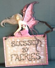 Fairy Plaque, beautiful, Nemesis Now, 'Blessed by Faeries' ready to hang up