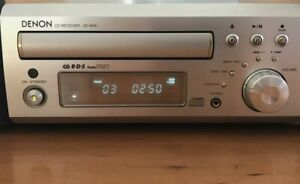 DENON UD-M30 CD Receiver, DAB, MISSION M70 speakers remote stereo hifi bookshelf