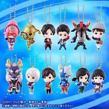 Premium Bandai Kyuranger Swing Okkyu! Chibi Keychain Special Set