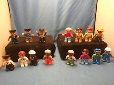 Lego Minifigure Bulk Lot of 15 Random Mixed  Figures POLICE DOCTORS PRISONERSETC