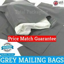 More details for grey mailing bags strong poly postal postage post mail self seal -  all sizes