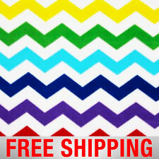 "Fleece Fabric Chevron 60"" Wide Free Shipping Style AA 37223-2"
