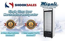 Migali C-10RM Single Glass Door Merchandiser Refrigerator TO COMMERCIAL ADDRESS