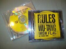 Wu-Tang Clan          PROMO CD LOT         Protect Ya Neck  --  Rules