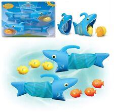 Juego para piscina Melissa & Doug Sunny Patch, tiburón caza peces con con 2 rede