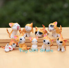 9 pcs Lovely Chi's Sweet Home Cat FIGURES Yellow