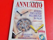 ANNUARIO DI OROLOGI LE MISURE DEL TEMPO 2001-2002  SOLO ANNUARIO