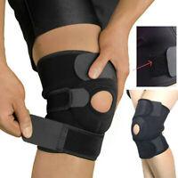 Adjustable Arthritis Knee Support Brace Guard Stabilizer Strap Wrap Open Patella