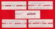 Mainline: South Yorkshire Transport ~ 5 Wayfarer Tickets: Adverts: OAP - 1990s