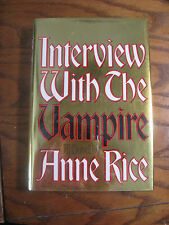 Anne Rice - Interview With The Vampire - HC, 2nd Printing, Signed - 1992