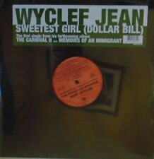 "WYCLEF JEAN ~ Sweetest Girl (Dollar Bill) ~ 12"" Single PS USA PRESSING SEALED"