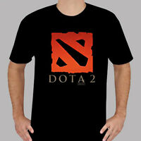 Dota 2 Multiplayer Game Defense of The Ancients Mens Black T-Shirt Size S to 3XL