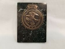 FBI Police Recognition Metal / Mini Plaque / Paperweight Brodin Studios