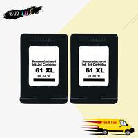 2PK Black Ink Cartridge For HP 61XL Officejet 2620 4630 4632 4634 4635 8040 8045