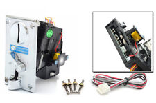 TW 130B Alloy Front panel CPU Multi Coin Acceptor Comparable Coin Selector