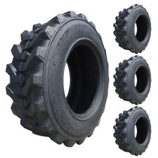 Set of 4 - Carlisle 10x16.5 Trac Chief XT Skid Steer Tires - 10 Ply