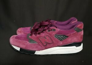 New Balance 998 Imperial Purple Made In USA size 10 men's shoes M998CM