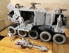 Star wars Turbo tank avec clones et speederbarc Hasbro