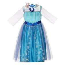 New Disney Frozen Elsa  Costume Dress Up 4-6X
