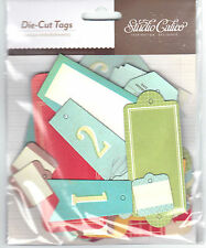 Studio Calico (36) BANNERS & LABELS CHIPBOARD TAGS scrapbooking