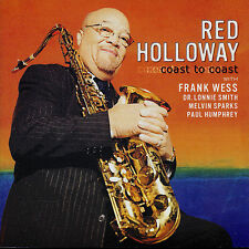 RED HOLLOWAY  coast to coast  DR. LONNIE SMITH - MELVIN SPARKS - FRANK WESS