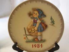 Vintage Hummel Annual Plate 1984 Goebel Little Helper Hum 277