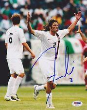 Frankie Hejduk Signed 8x10 Photo Team Usa *Very Rare* Psa/Dna Autographed
