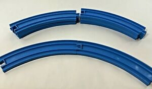Thomas Train Curved Track Blue Track Master x8