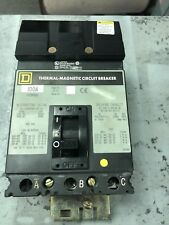 SQUARE D FC34100  3P 100 AMP 480 VOLT I LINE CIRCUIT BREAKER