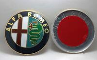 Delantero Trasero Insignia emblema 74mm para ALFA ROMEO GT GIULIETTA MiTo 159