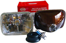 82-93 CHEVY S10 S-10 EURO DIAMOND H4 H6054 HEADLIGHTS